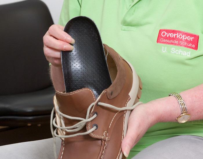 uk availability 48fb2 6987c Orthopädische Einlagen   Overlöper Gesunde Schuhe